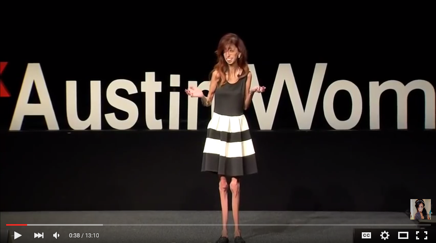 How do you define yourself? Lizzie Velasquez at TEDxAustinWomen